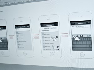 Mobile UI Wireframe